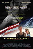 Poster for A Marine Story