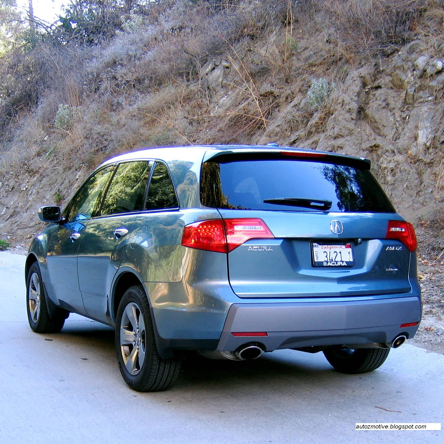 TOP SPEED LATEST CARS: 2007 Acura MDX