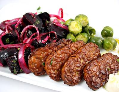Oppskrift Tempeh Vegansk Julemat Vegetarisk Julemiddag