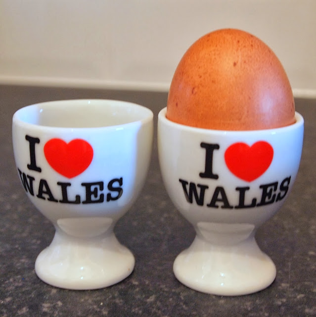 I heart Wales egg cups