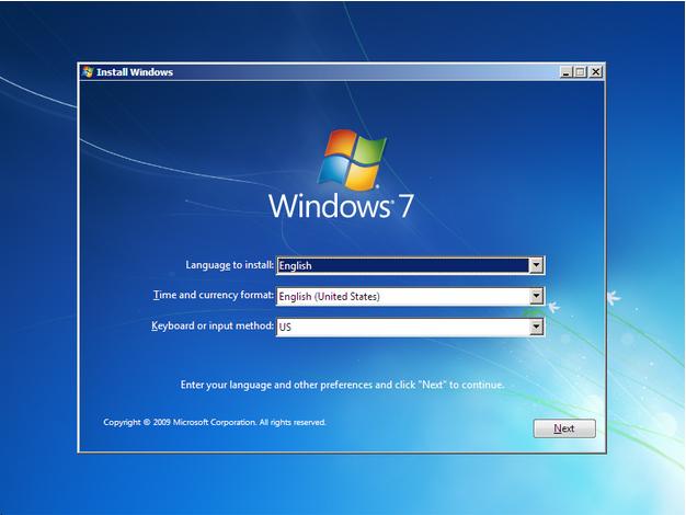 شرح تثبيت ويندوز 7 Windows7+setup+step+by+step+1