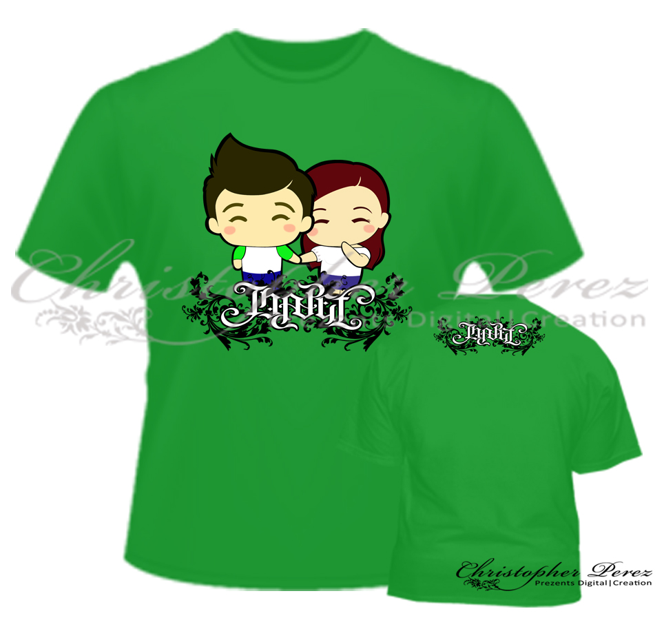 Shirt design sample