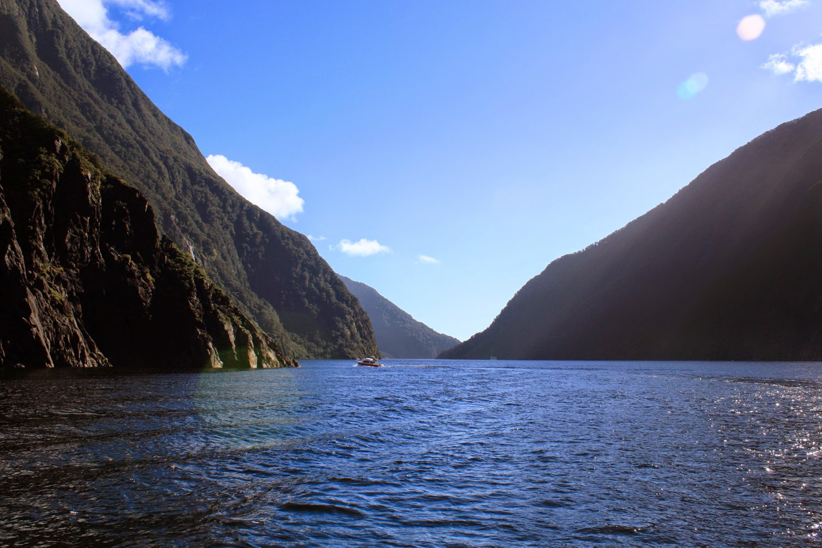 Hills in Milford Sound.