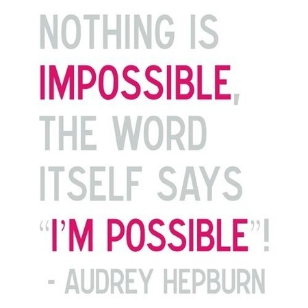 nothing is impossible quotes. Nothing is Impossible