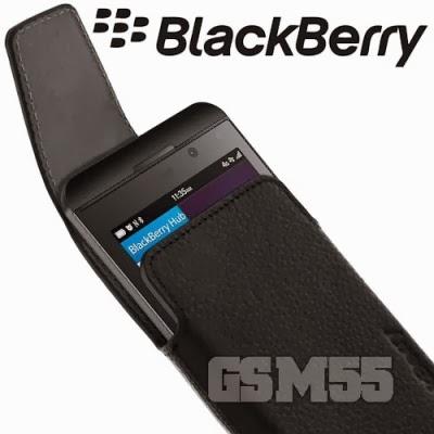 Housse avec accès rapide pour BlackBerry Z10