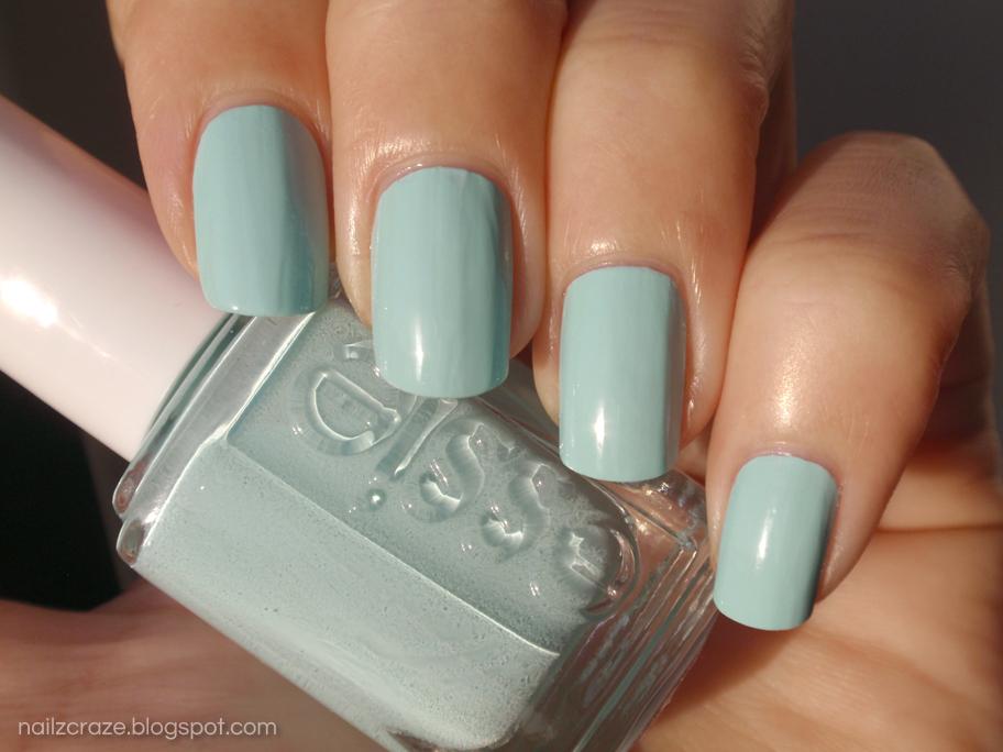 Essie Mint Candy Apple Swatch - Nailz Craze