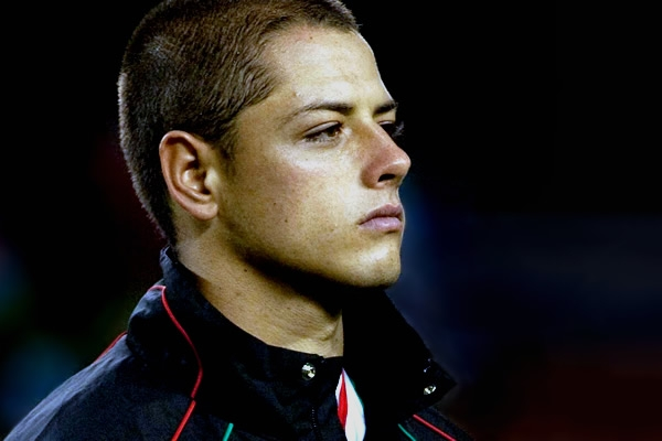 Football Player Javier Hernandez