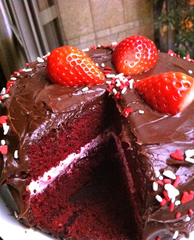 Red Velvet Box Cake With Mayonnaise