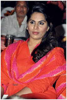 Upasana Kamineni Pictures in Red Salwar Kameez at Santoor Spoorthi Awards 2013 Function ~ Celebs Next