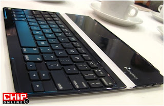 Logitect Ultrathin Keyboard Cover Untuk iPad