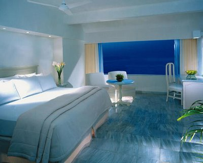 Decoraci n y afinidades dormitorio con colores relajantes - Colores pared dormitorio ...