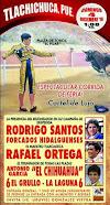 Anuncian a Santos, Ortega y El Chihuahua en Tlachichuca, el 04/12.