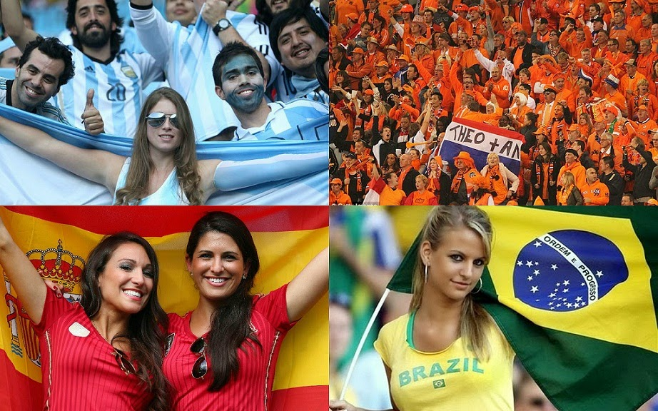 Football World Cup 2014 Fans