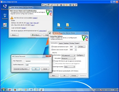 RealVNC Remote Access