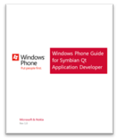 FREE eBook: Windows Phone 7 Guide for Symbian Qt Application Developers