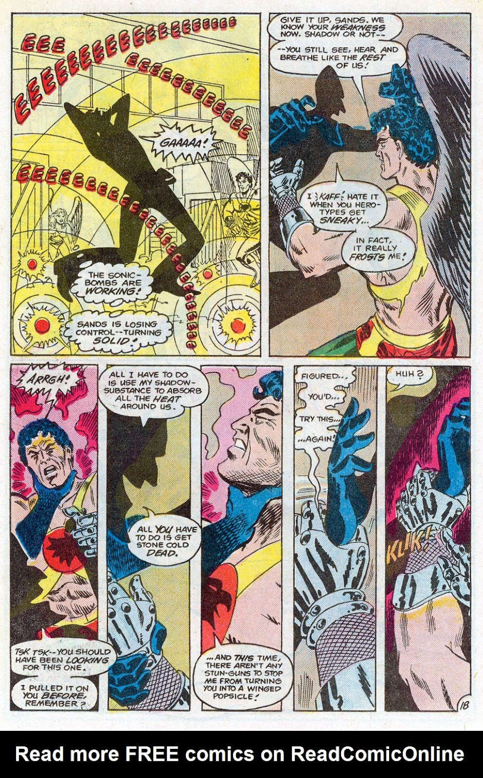 Hawkman (1986) Issue #3 #3 - English 21