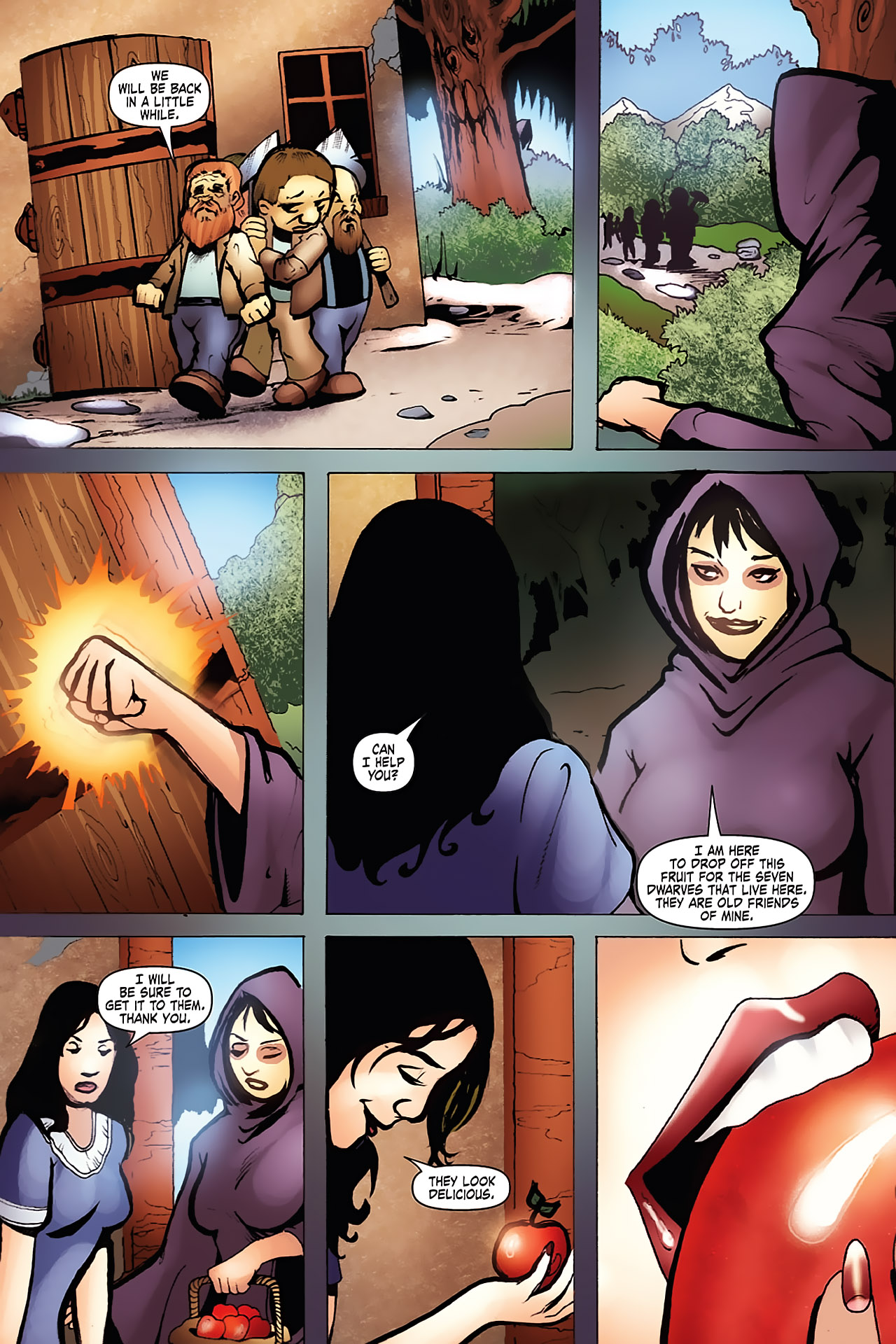 Grimm Fairy Tales (2005) Issue #7 #10 - English 18