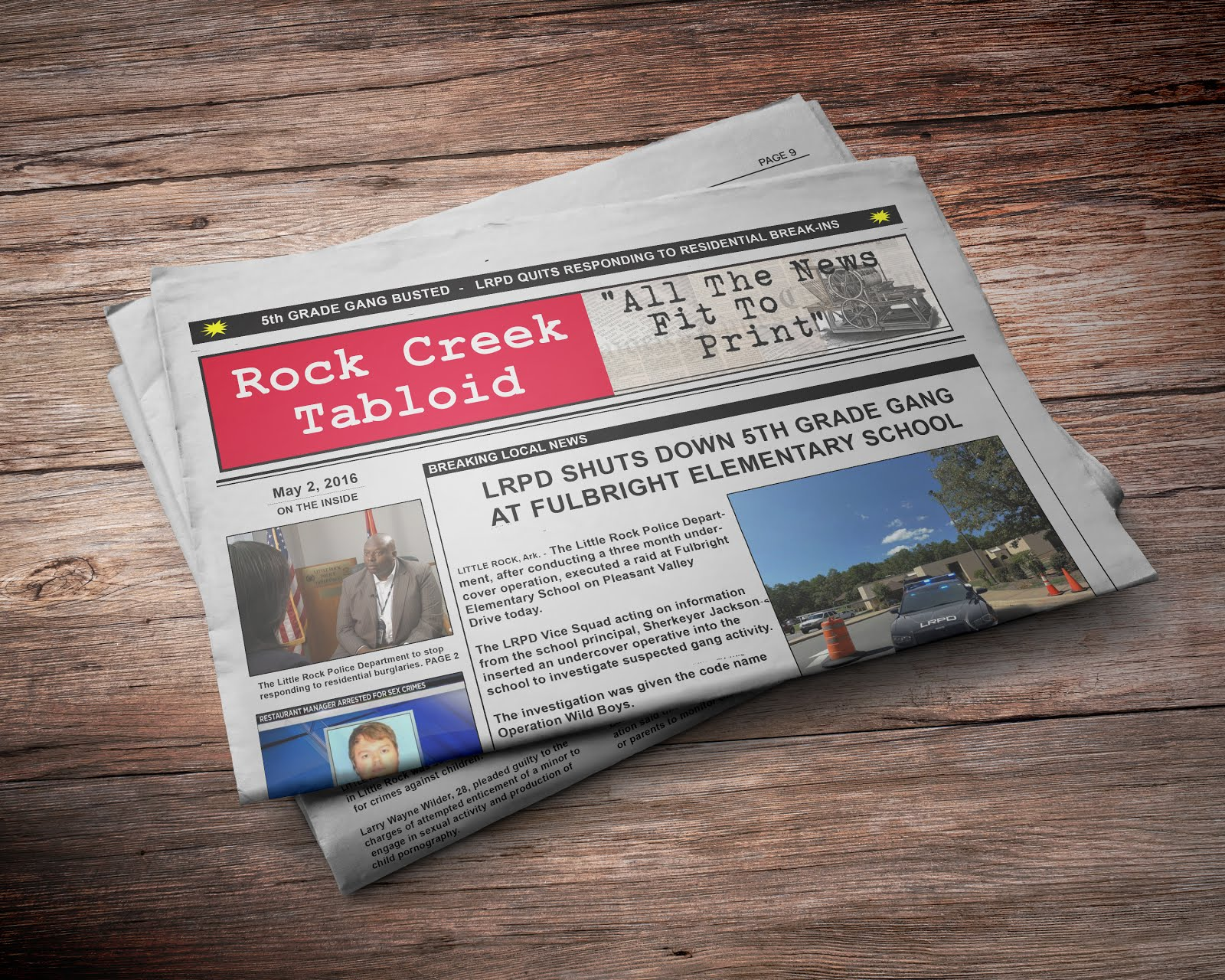 LOOK FOR ROCK CREEK TABLOID IN A STORE NEAR YOU!