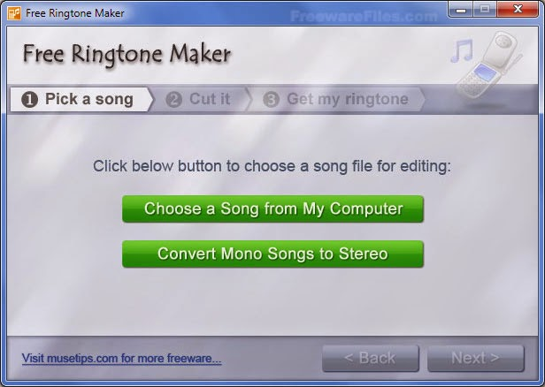 Free Download Ringtone Maker Portable for Windows