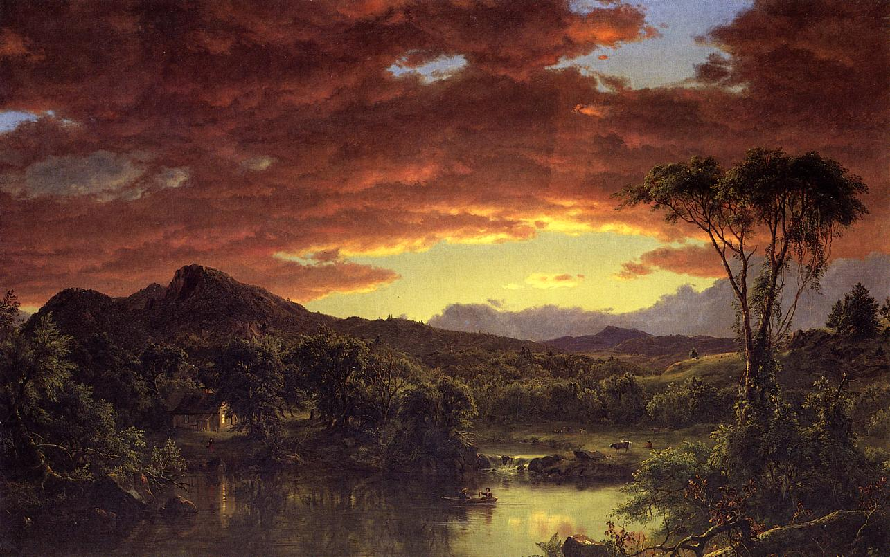 Art artists frederic edwin church part 2 for Frederick church paintings