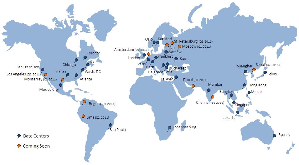 Internationell dejtingsida världen över
