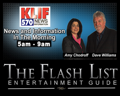 Sherri Tilley of The Flash List Interviewed on 570 KLIF News & Information in the Morning with Amy Chodroff and Dave Williams