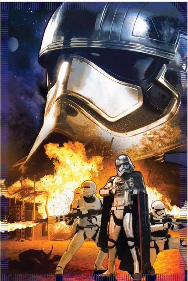 Cartel nº4 de la película Stars Wars 7 El despestar de la fuerza