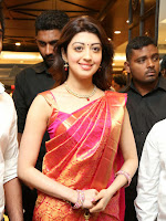 Pranitha glamorous photos at VRK Silks-cover-photo