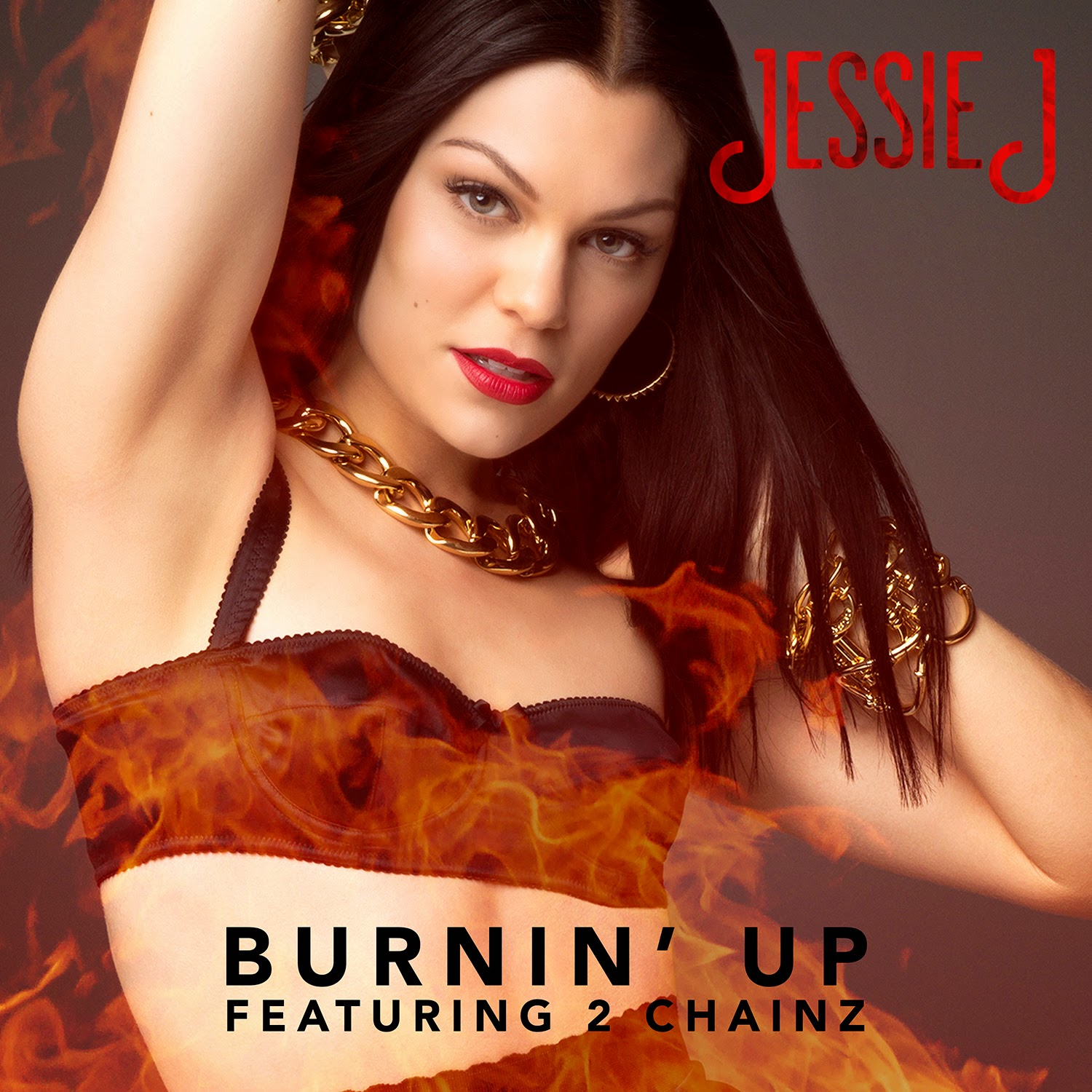 Jessie J new single Burnin' Up