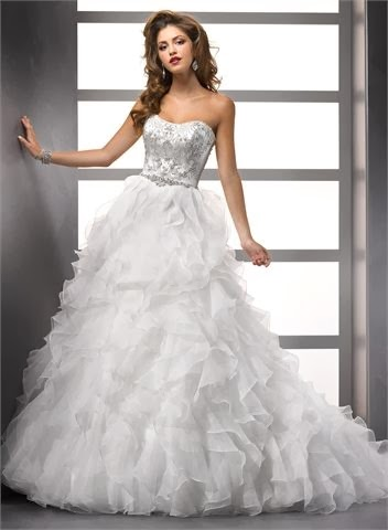 A Beautiful Wedding Dress