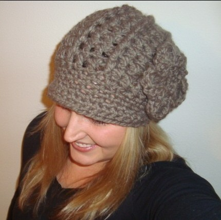 free knitting pattern: womens knit beret models