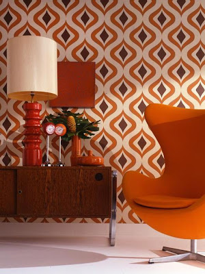 vintage wallpaper Graham and Brown