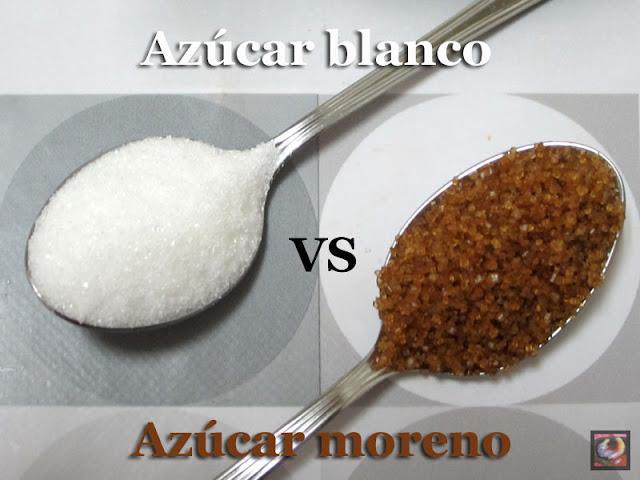 ¿Azúcar blanco ó azúcar moreno?