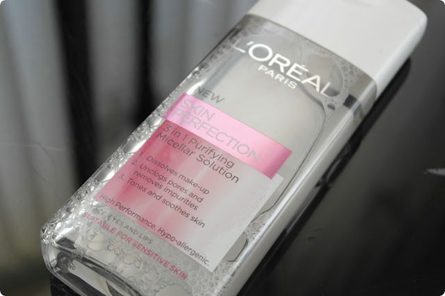 L'Oréal Paris   Skin Perfection 3 in 1 Purifying Micellar Solution