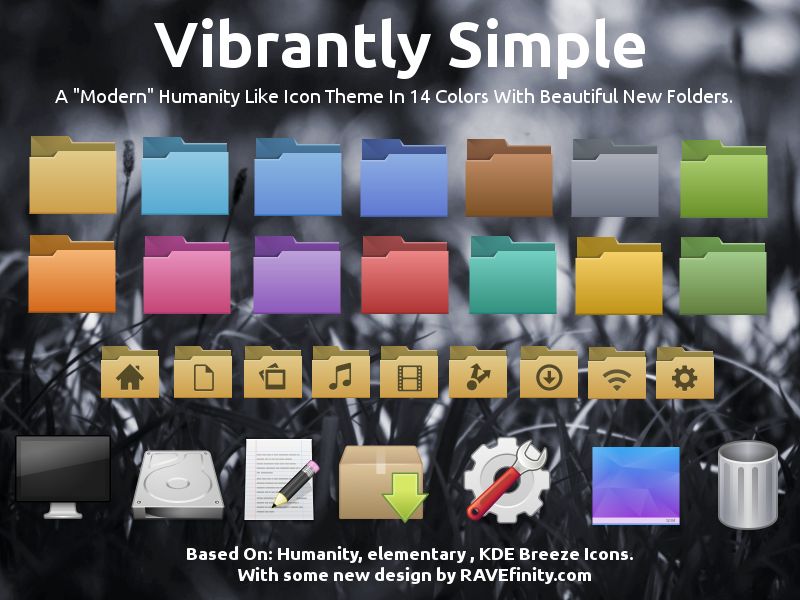 http://www.ravefinity.com/p/vibrantly-simple-gtk-icon-theme.html
