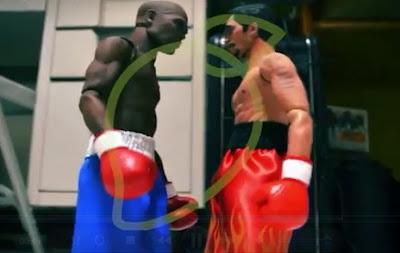 Pacquiao versus Mayweather