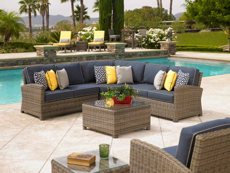 Vintage Another major application for plastic lumber is patio furniture replacing the wicker and wood as the preferred material for these applications