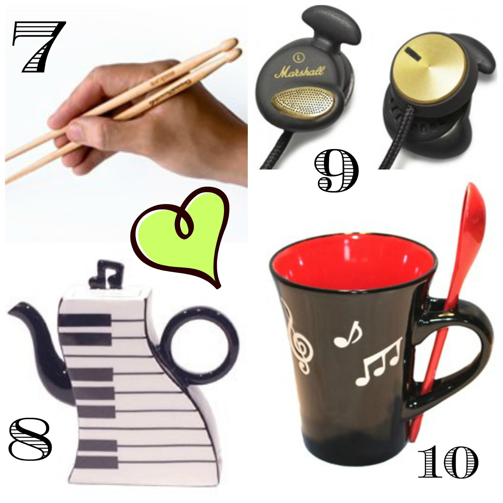 music-related stocking fillers