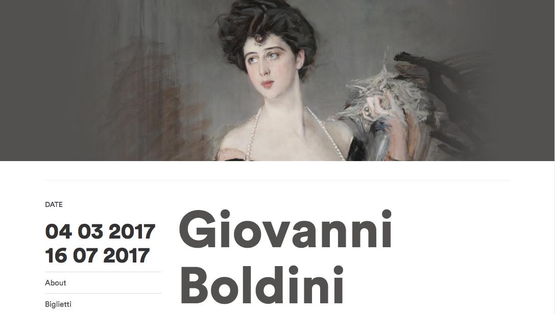 Mostra di Giovanni Boldini