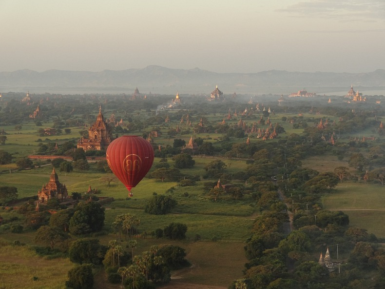 Plain of Temples Bagan Myanmar