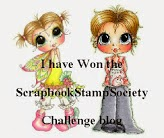 Winner Scrapbook Stamp Challenge