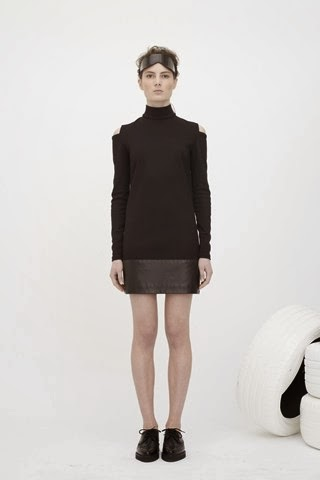 Zoe Jordan AW14 sports luxe fashion collection