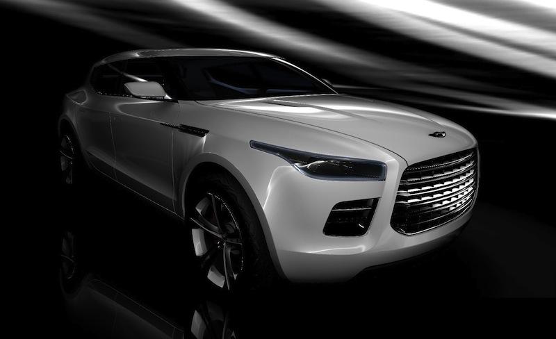 アストンマーチンがメルセデスGLベースの新型SUVを開発?