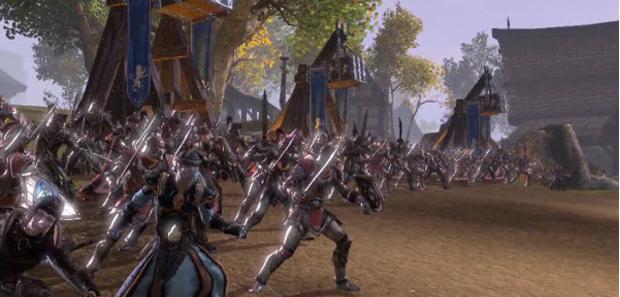 Elder Scrolls Online PvP Gameplay