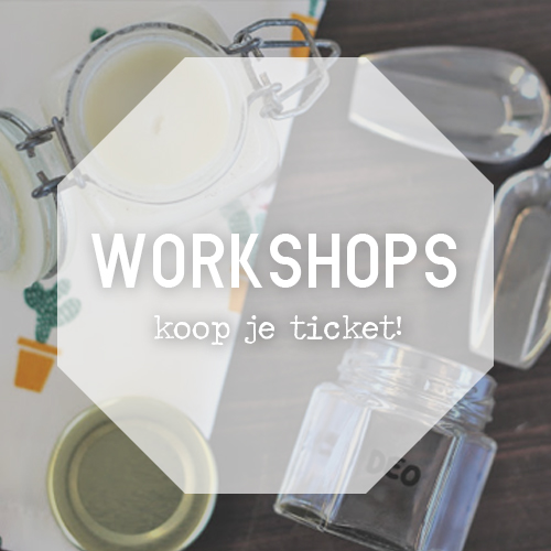 Volg een Zero waste workshop!