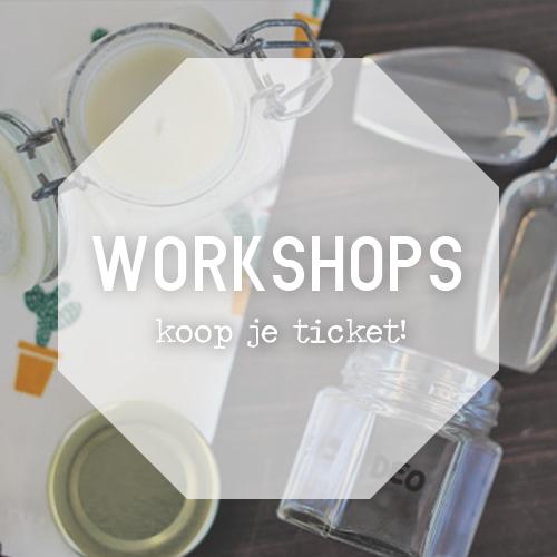 Volg een Zero waste workshop!