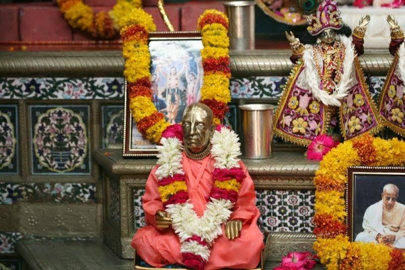Close View of HDG A.C.Bhaktivedanta Swami Srila Prabhupada