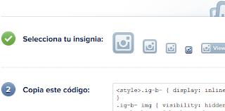 Como Crear tu Insignia Instagram para tu perfil (Web)