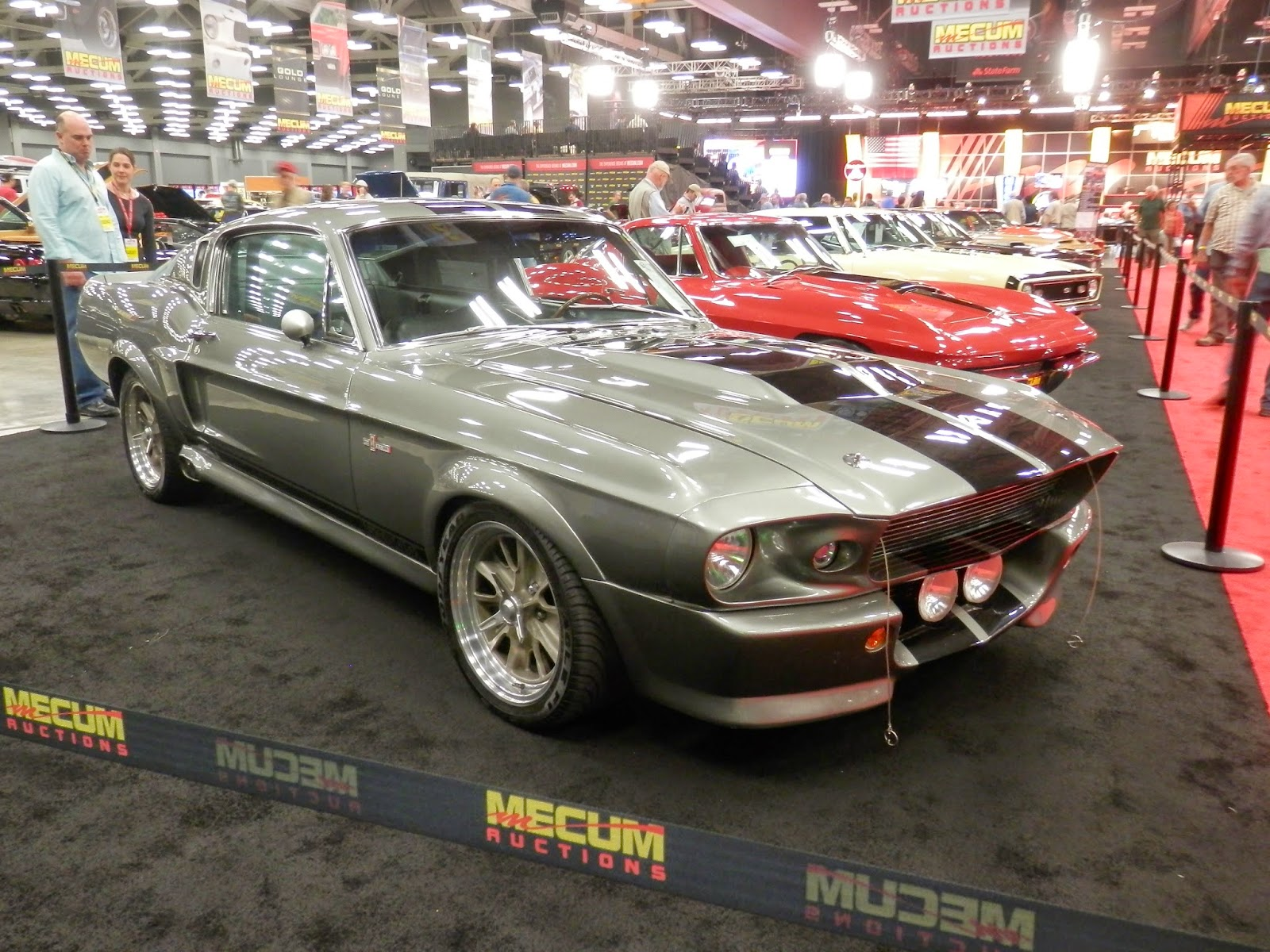 Shifting Gears: Mecum Auction Coverage