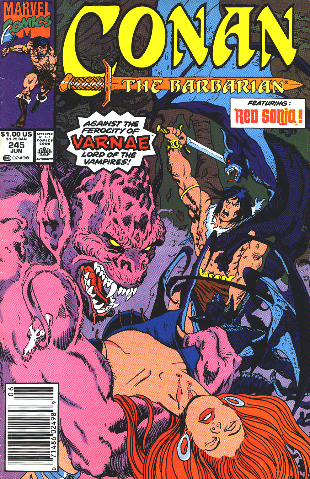 Conan the Barbarian (1970) Issue #245 #257 - English 1